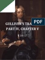 Gulliver's Travels Excerpt