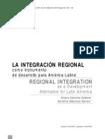 Integración Regioal de America Latina