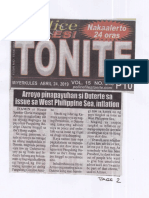 Police Files, Apr. 24, 2019, Arroyo pinapayuhan si Duterte sa issue sa West Philippine Sea, inflation.pdf