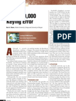 Keying Error