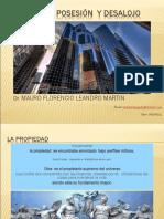 Derecho de Propiedad Posesión y Desalojo Unmsm. (1)
