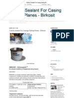 Turbine Sealant for Parting Planes - Birkosit