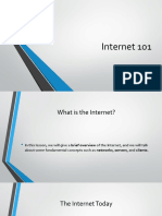 discussion of What is the Internet