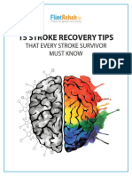 Tips for Stroke Recovery From Flint Rehab