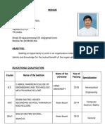 Resume 2018 Image