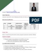 Thiru Resume Updated
