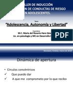 Adolescencia, Autonomía y Libertad