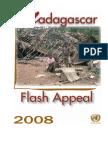 Madagascar Flash Appeal, 2008
