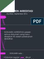 Dokumen Akreditasi Yg Diperlukan