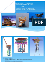 Offshore Structure Fixed Platform Inplace Analysis