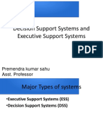 TPS MIS Decision Support Systems and Executive Support Systems