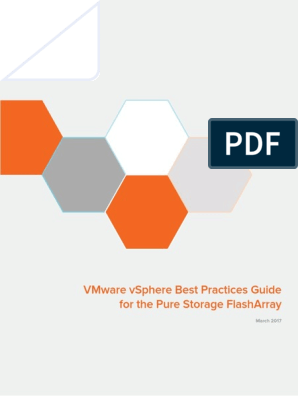 FlashArray VMware vSphere Best Practices | Computer Network