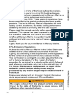 Mercury marine owner manual