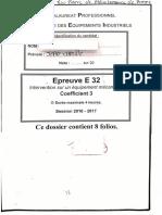E32 Mécanique. Document Élève