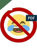 Schilder Lachen Verboten