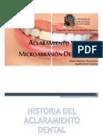 ACLARAMIENTO Y MICROABRASION DENTAL.pdf