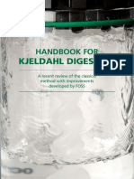 Handbook for Kjel Dahl Digestion