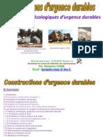 Constructions d Urgence Durable s