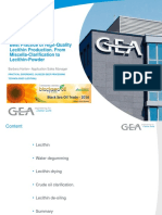 CGMP of Lecithin