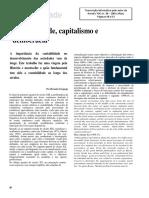 Contabilidade Capitalismo e Democracia