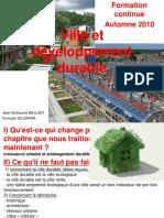 Ville Et Developpement Durable