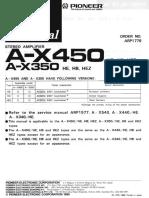 Pioneer a X450 Service Manual (1)