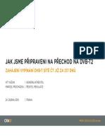 Prezentace Českých Radiokomunikací - tisková konference 24. dubna 2019