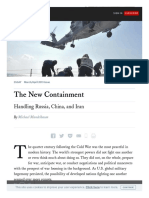 Www Foreignaffairs Com Articles China 2019-02-12 New Containment