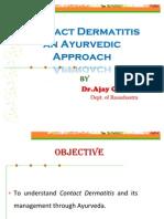 Contact Dermatits in ayurveda