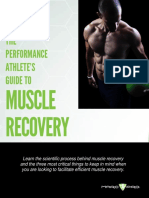 Performance Athletes Guide to Muscle Recovery