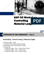 CO Workshop - Material Ledger - 2