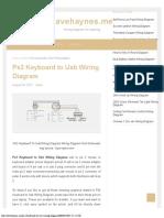 Ps2 Keyboard to Usb Wiring Diagram - Davehaynesme
