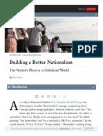 Www Foreignaffairs Com Reviews Review Essay 2019-02-12 Building Better Nationalism