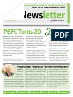 PEFC Newsletter April 2019