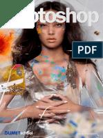 Membuat Efek Tulisan Di Belakang Gambar Dengan Photoshop