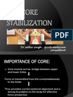 Core Strenthening