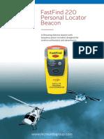 McMurdo FastFind 220 PLB Datasheet