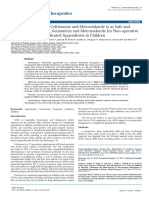 Single Daily Dosing of Ceftriaxone and Metronidazole is as Safe and Effective as Ampicillin Gentamicin and Metronidazole