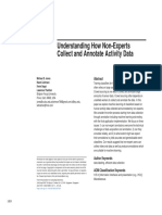 Understanding How Non-Experts Collect and Annotate Activity Data