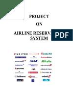 Airline Reservation SystemVb