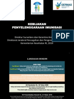 Kebijakan Penyelenggaraan Imunisasi