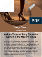 Various Types of Party Shoes for Women in the Modern Times