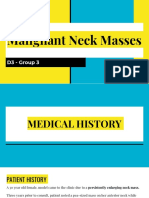 ENT D3 Group 3 - Malignant Neck Masses