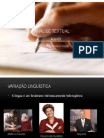 Análise Textual aula 03