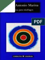 Marina Jose Antonio - Etica Para Naufragos.pdf