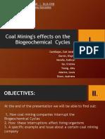 coalminingeffectsonbiogeochemicalcycles-170310034153