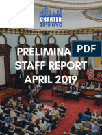 Charter Commission Preliminary Staff Report 2019