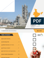 IBEF Cement Mar 2019