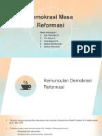Revisi demokrasi reformasi