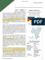 Mozambique - Wikipedia